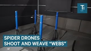 This drone can shoot webs like Spider-man