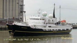 cruise liner SERENISSIMA J8B4685 IMO 5142657 Emden Kreuzfahrtschiff BJ 1960