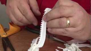 Zipper Shortening & Stops - Part 4 of Zippers Explained in Detail