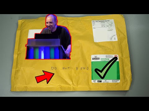 Lock Sport Update    My Parcel From huxleypig69 Came In! (Can't unbox live)