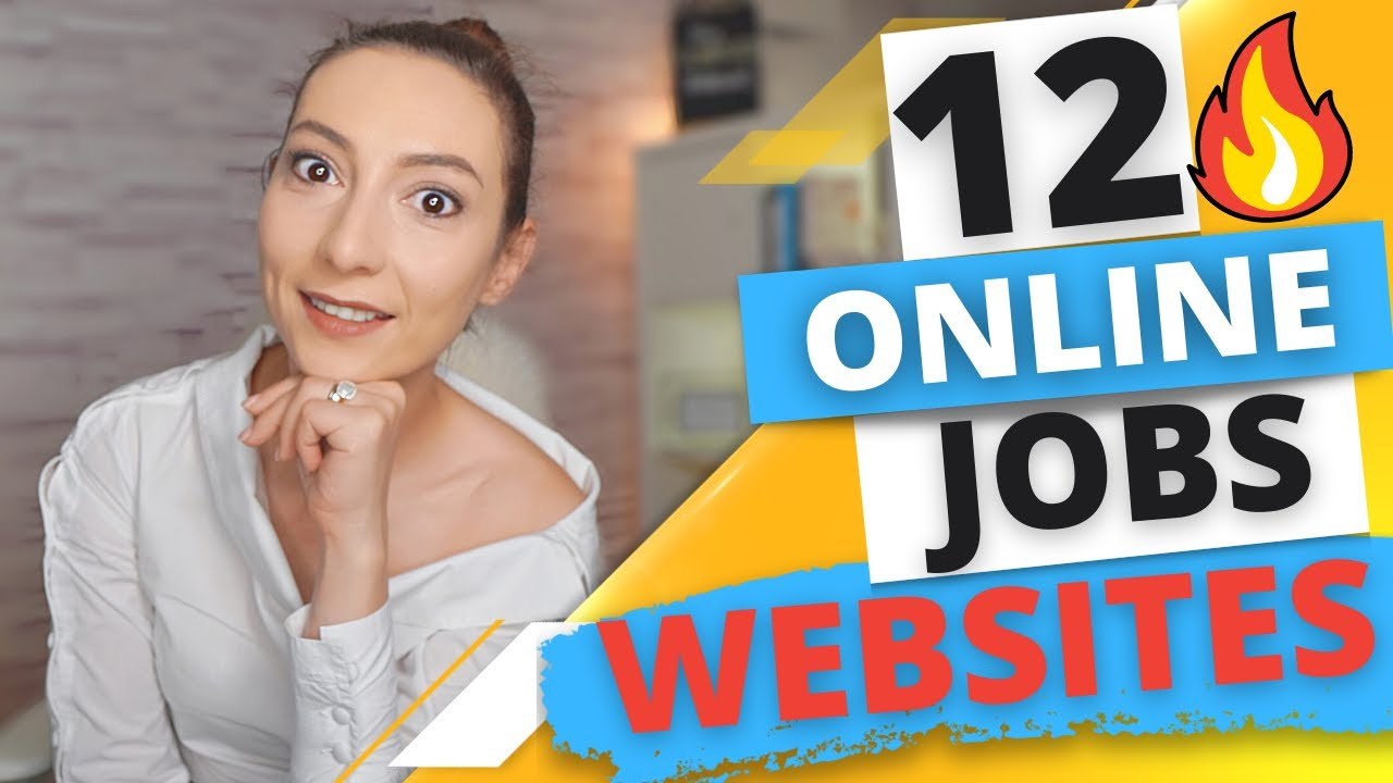 Top 12 Sites with Thousands of Work from Home Online Jobs & Remote Jobs - US, UK, Worldwide