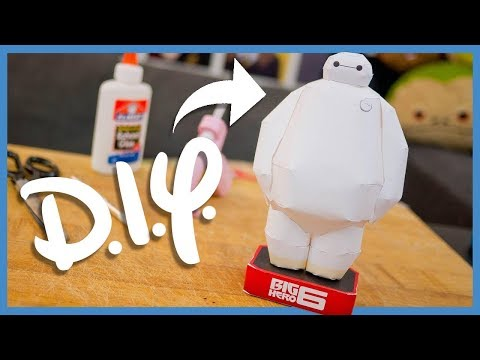 DIY Baymax Paper Craft!! [Big Hero 6] ► JamesChats