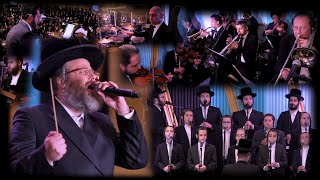 Dudi Kalish creates an Orchestra Live! – Mir Dinner – A Team – Lev Choir - Shir V'shevach Boys Choir