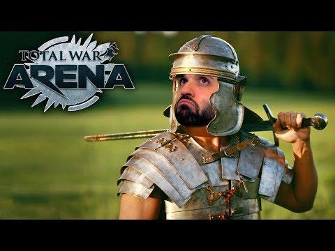 ROMANOS Y GRIEGOS UNIDOS | TOTAL WAR ARENA Gameplay Español
