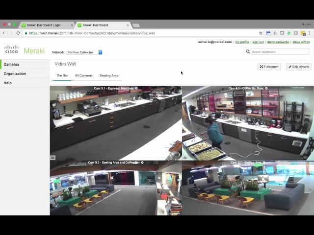 Cisco Meraki MV Video Wall Mini-Demo