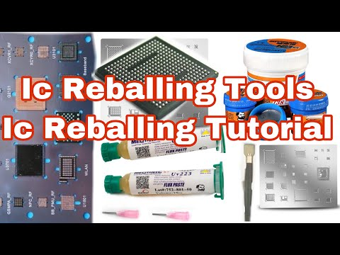 HOW TO REBALL IC ] MOBILE PCB IC FULL TUTORIAL  [Hindi] ANY IC OLD TO NEW