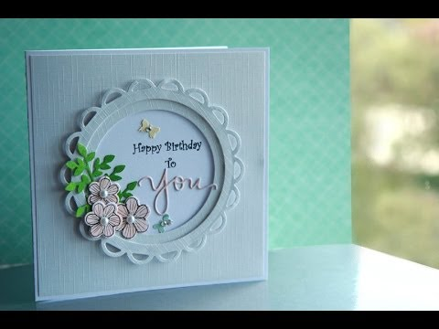 Happy Birthday to You card tutorial: How I made this Birthday Card