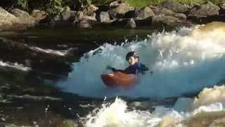 Дети-каякеры (Kids kayaking). Freestyle (родео).