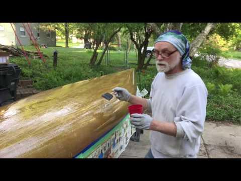 Canoe Repair May, 2016