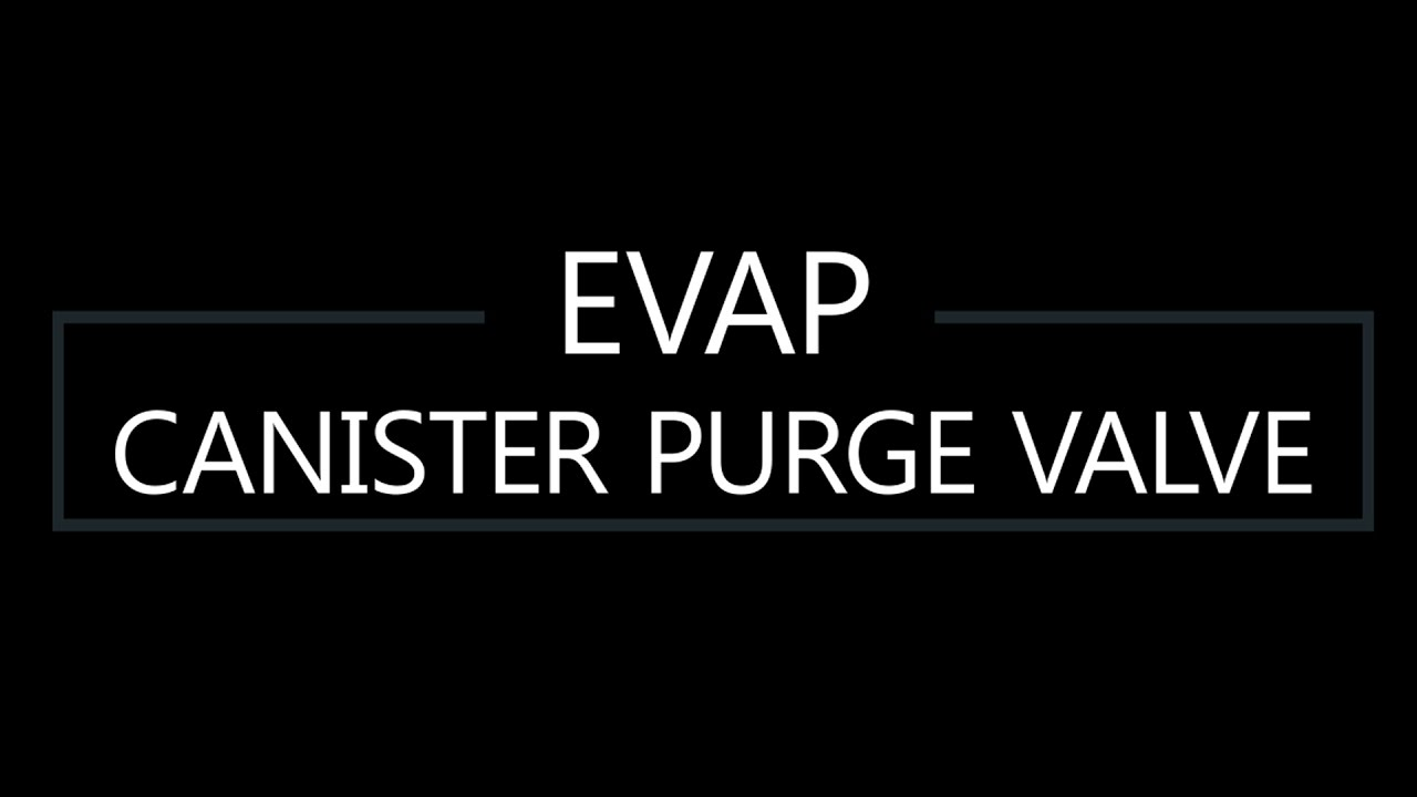 EVAP Canister Purge Valve DIY replacement for 2008 Acura MDX