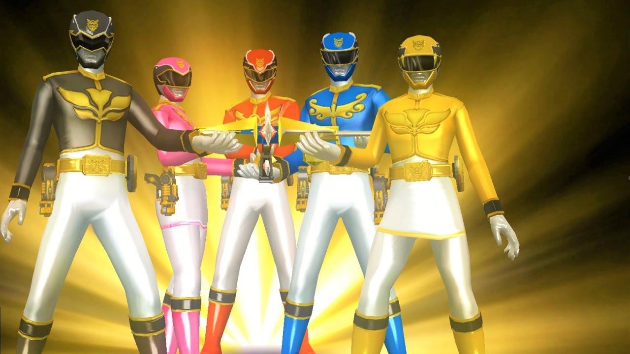 Sieu Nhan Game Play   5 anh em siêu nhân thiên sứ   Game Super Sentai  Battle Ranger Cross #4 - YouTube