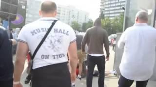 Российские Фанаты Избили Поляков за Русска Курва | Драка Российских Фанатов