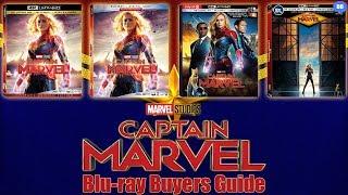 Captain Marvel Blu-ray Release Date | Buyers Guide | Best Buy SteelBook & Target Exclusive