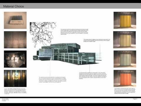 Part 1 Architecture Degree Portfolio Youtube