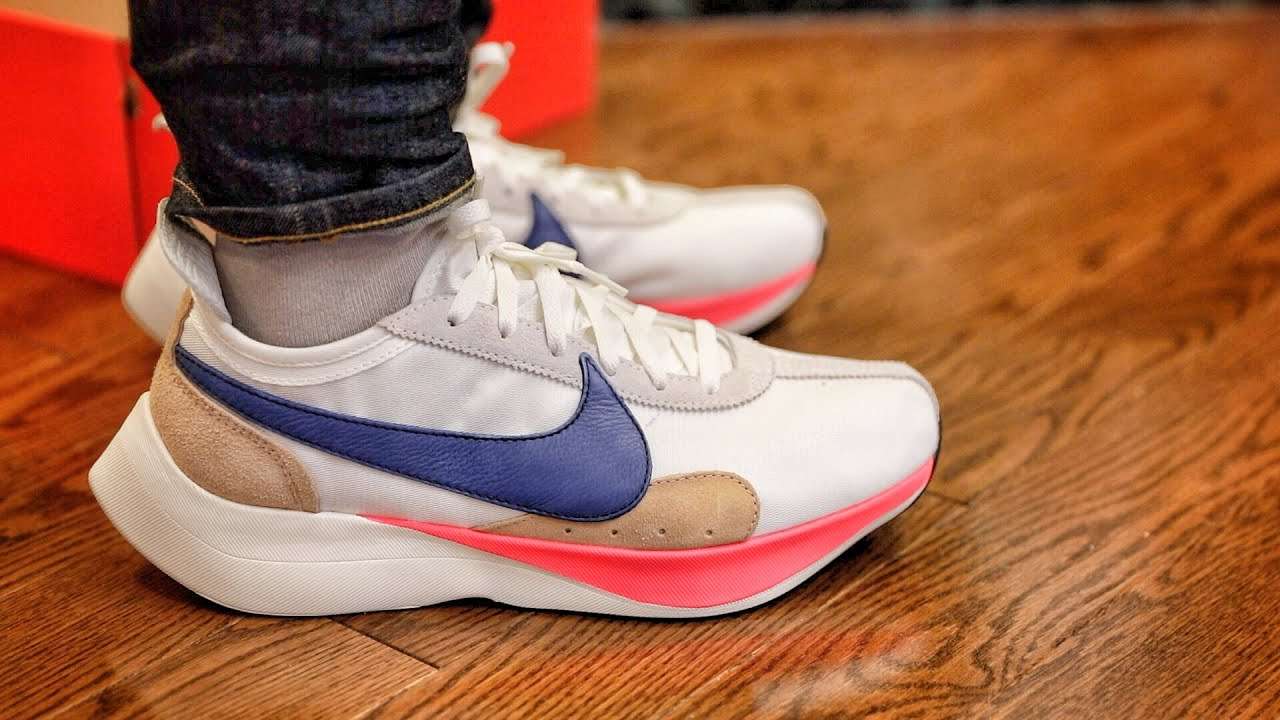 Nike Outlet Find Nike Moon Racer Sail Solar Blue Unboxing And On Foot Youtube