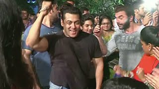 UNCUT   Salman Khan Dancing in Celebration of Ganesh Chaturthi Festival 2015