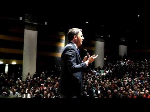 Matteo Renzi a Roma, auditorium del Massimo