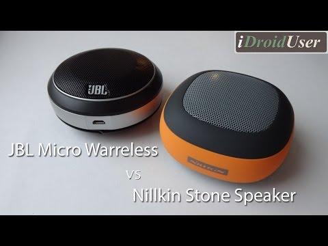 Nillkin Stone Speaker vs. JBL Micro Wireless - полный обзор и сравнение