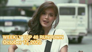 Weekly Top 40 Rundown [October 17, 2020]
