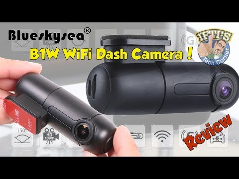 BlueSkySea B1W WiFi Enabled Car/Van/Truck Dash Camera : REVIEW