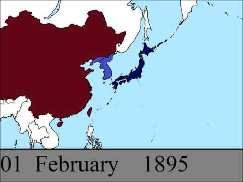 The First Sino-Japanese War: Every Day