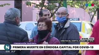Se confirmó la primera muerte por coronavirus en Córdoba Capital, ya son cinco los muertos en toda l
