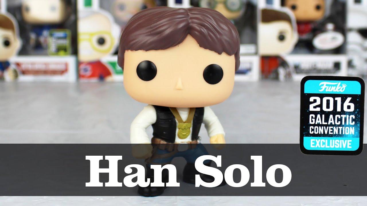 Ceremony Vinyl Funko POP Han Solo 2016 Celebration NEW Star Wars