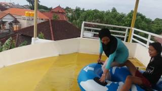 Part Of Water Park , Bali 100 % Jantungan