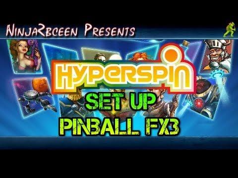 Hyperspin-Set Up Pinball FX3