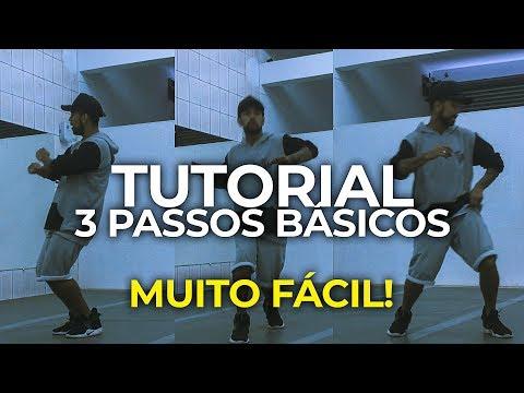 3 PASSOS DE DANÇA QUE VOCÊ PRECISA APRENDER - HIP HOP DANCE Iniciante by Cleber Ricky
