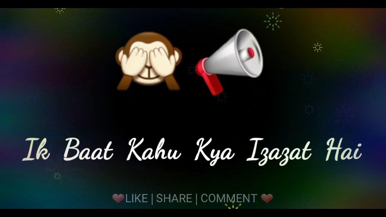 Ishq Ki Aadat Whatsapp Love Status 2017 Youtube