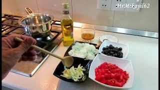 02.07.18. Как пожарить маслины в томатном соусе 💥пошаговый рецепт💥