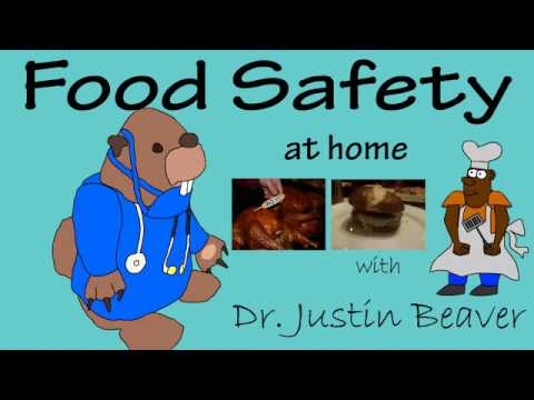 Avoid food poisoning, food safety training by Dr. Justin Beaver: Food Safety At Home