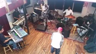 "Billy Paul Rehearsing ""Me & Mrs Jones"" at The Boom Room Studio in Philadelphia"