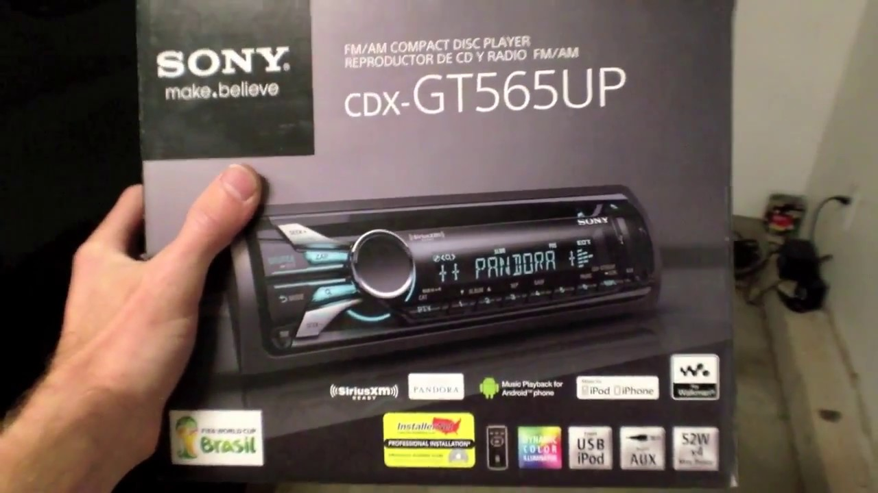 maxresdefault sony cdx gt565up car stereo, cd, mp3, usb, android, ios youtube sony cdx gt565up wiring diagram at couponss.co