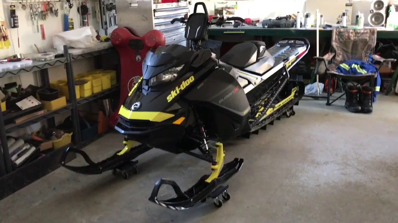 Review 2017 Skidoo 850 Rev Gen 4 Summit 154 3 After A Few Rides You