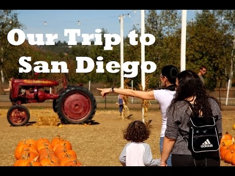 Our Short Trip to San Diego - Hvlog - Episode 1