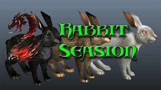 Guild wars 2 Bunny Hunting!: Wabbit Season! Thumbnail