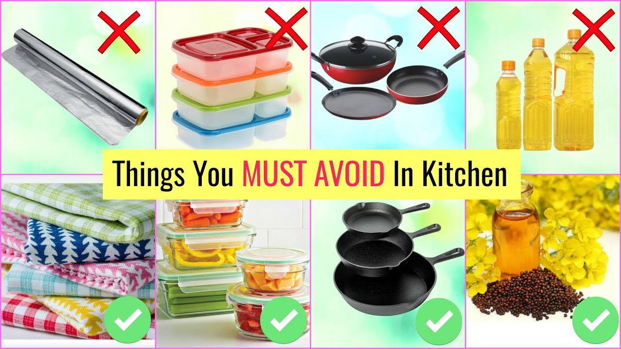 Things You MUST AVOID in Kitchen | Kitchen Do's & Don'ts ...