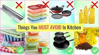 Things You MUST AVOID in Kitchen | Kitchen Do's & Don'ts | #Health #Tips #CookWithNisha