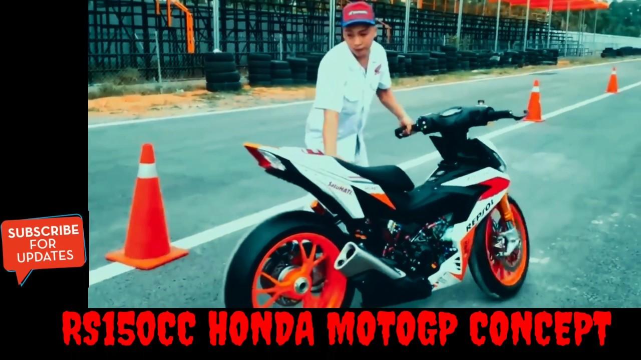 Modifikasi Honda Supra Gtr 150 Rs 150 Ala Motogp Youtube