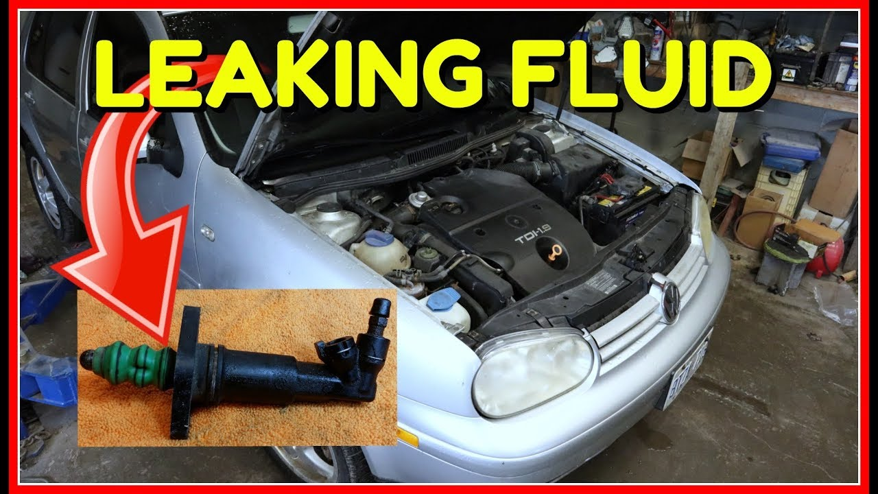 Master Cylinder Replacement >> VW Golf MK4 TDIClutch Slave Cylinder Replacement - YouTube