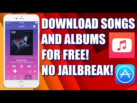 *NEW* How To Download Songs And Albums For Free on iOS! ( App in App Store)