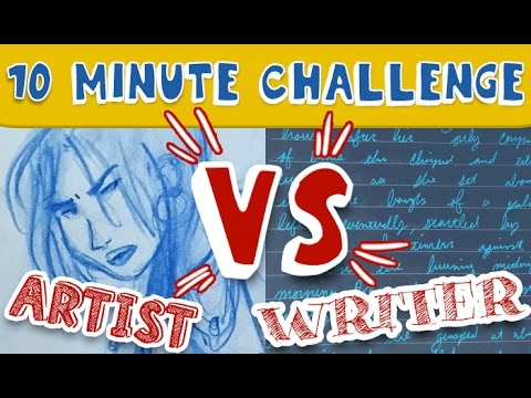 10 Minute Challenge | Artist vs. Writer: The Lady Pirate