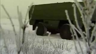 Макетный образец защищённого автомобиля КамАЗ-63969 «Тайфун»