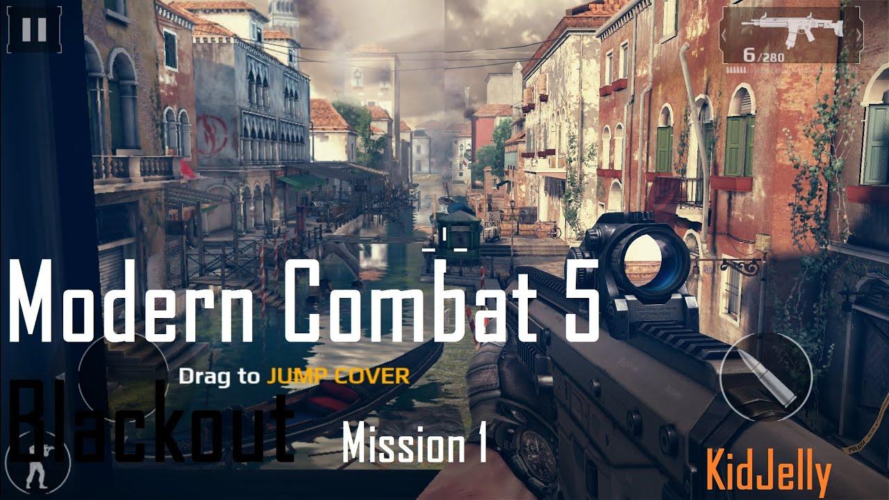 modern combat 5 blackout walkthrough mission 1