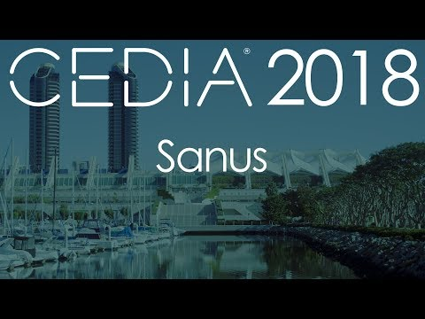 Sanus mounts Sonos at CEDIA 2018