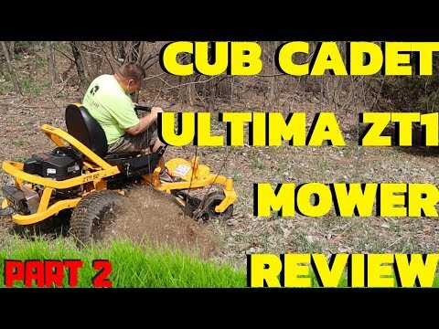 Cub Cadet ULTIMA ZT1 ZT2 Mower Review | Cut Quality and Minor Issues