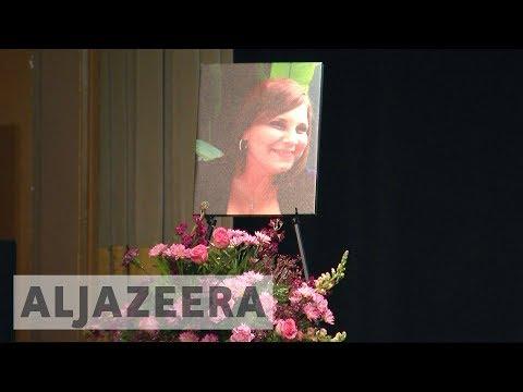 Charlottesville holds vigil in honour of Heather Heyer
