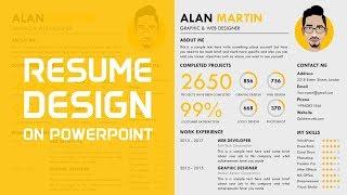 Comment Faire un CV Professionnel dans PowerPoint